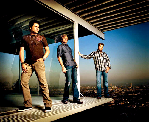 The Rascal Flatts are meant for very sentimental and heart-breaking moments...not for heated can't-keep-my-paws-off-you instances.
