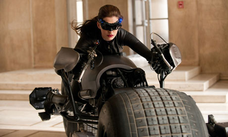 They would have gotten the hell out of my way if I was riding the Batman motorcycle.