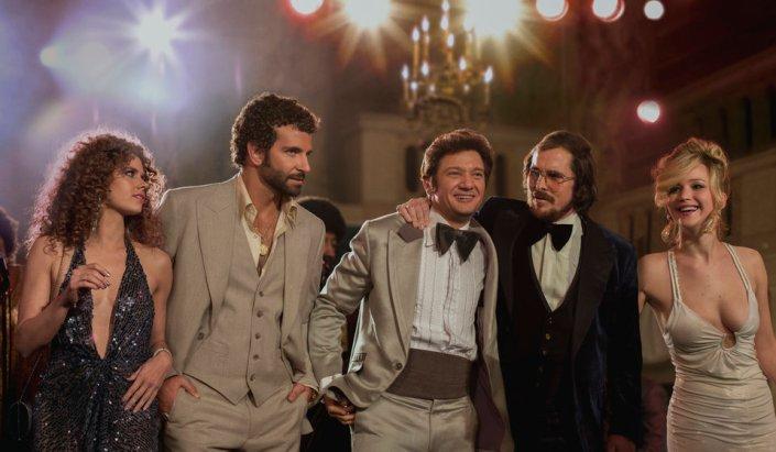 Christian Bale Bradley Cooper Amy Adams Jeremy Renner Jennifer Lawrence